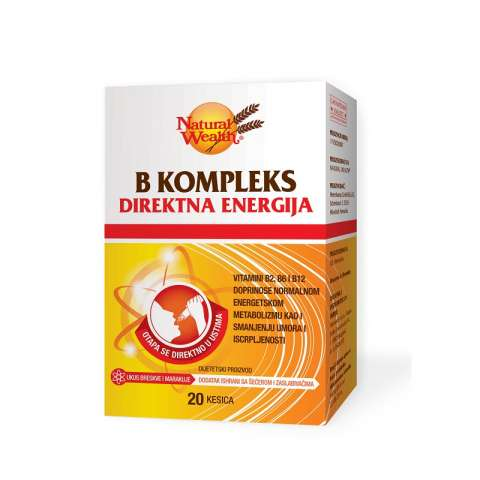 Natural Wealth B kompleks direkt