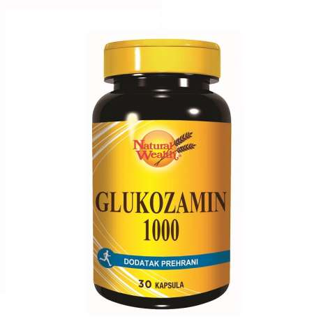 Natural Wealth Glukozamin 1000mg
