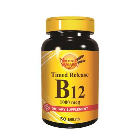 Natural Wealth Vitamin B12