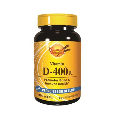 Natural Wealth Vitamin D3 400IJ