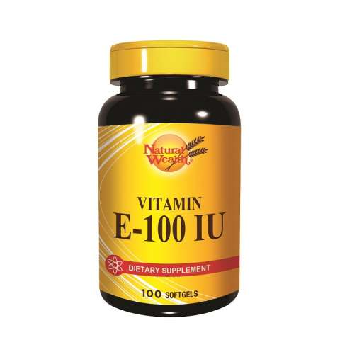 Natural Wealth Vitamin E 100IJ