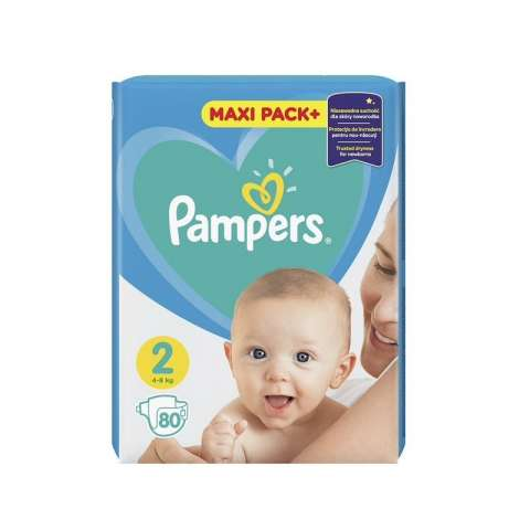 Pampers Active Dry pelene JPM 2 (4-8kg)