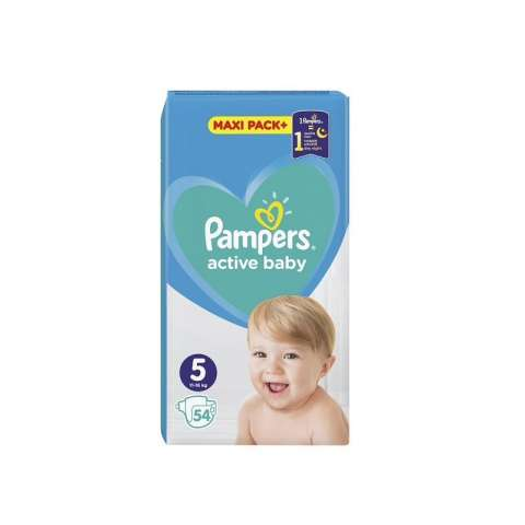 Pampers Active Dry pelene JPM 5 (11-16kg)