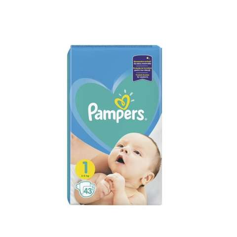 Pampers Active Dry pelene VP 1 Newborn (2-5kg)