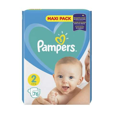 Pampers Active Dry pelene VP 2 (4-8kg)