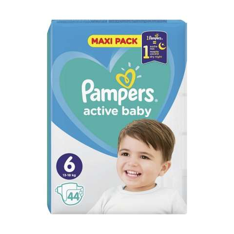 Pampers Active Dry pelene VP 6 (13-18kg)
